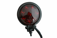 Black E-marked LED Custom Stop Tail light for Harley Davidson Dyna Project