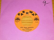 """INSTRUMENTAL 45 RPM - THE COUSINS - PARKWAY 823 - """"NO ONE KNOWS"""""""