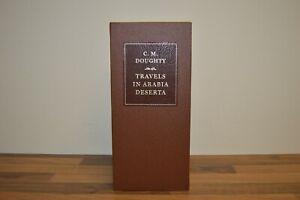 Travels in Arabia Deserta - Charles Doughty - Folio Society - Limited Edn (ID36)