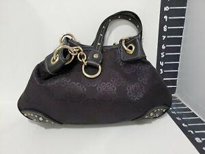 Kathy van zeeland womens med sized black handbag/tote