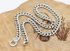 C30 Herrenkette Flachpanzer buddhistisch Silber 925 6-Wort-Mantra Länge wählbar