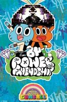 AMAZING WORLD OF GUMBALL ~ POWER OF FRIENDSHIP 22x34 CARTOON POSTER NEW/ROLLED!
