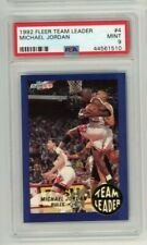 1992 Fleer Team Leader Michael Jordan #4 psa 9 mint