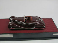 Matrix Scale Models 1939 Bugatti T57C VanVooren Cabriolet Shah of Iran 1:43