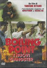 Dvd **BOILING POINT ~ I NUOVI GANGSTER** di Takeshi Kitano nuovo 1982