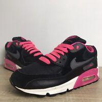 Nike Air Max 90 Uk Size 5.5 2007 Black Hot Pink