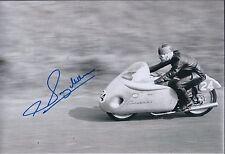 Sammy Miller SIGNED Trails & Road Bike Legend 12x8 Photo AFTAL Autograph COA