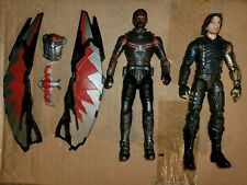 Marvel Legends Avengers Infinity War 2-Pack Winter Soldier & Falcon Loose
