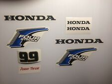 Honda 9.9 hp 4-Stroke Outboard Decal Kit - USA free fast shipping 8 decal set