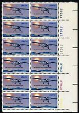 US 1977 Lindbergh Flight Plate Block of 12 (1710) Mint Never Hinged