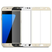 9H Full Cover Curved Tempered Glass Screen Protector Film For Samsung Galaxy S7