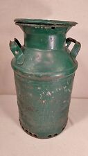 RARE 1929 Vintage COOL GREEN 5 Gallon Milk Can - Isaly's Creamery Ft. Wayne, IN