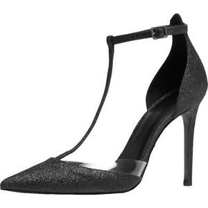 MICHAEL Michael Kors Womens Renata Ankle Strap T-Strap Heels Shoes BHFO 5599