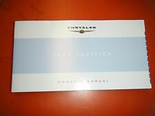 2005 Chrysler Pacifica Factory Operators Owners Manual Glove Box