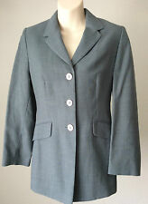 Next Petite ~ wool rich fourties style blue jacket ~ size 6 ~ new, no tags