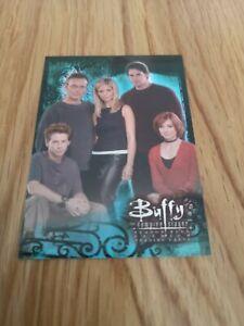 Buffy the Vampire Slayer Season 4 Promo Trading Card SD2000 Inkworks