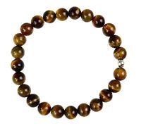 TIGERAUGE Edelstein-Armband Stretch Perlenarmband D570