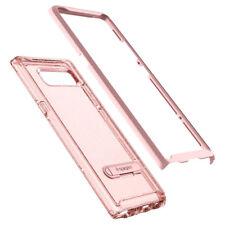 Spigen Crystal Hybrid Glitter Bumper Case for Samsung Galaxy Note8 - Rose Quartz