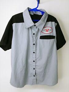 Polaris Victory Motorcycles Youth/Boy Work Shirt Small Mechanics Shirt-MATCH DAD