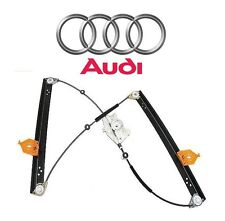 For Audi A8 Quattro S8 Front Passenger Right Window Regulator w/o Motor Genuine