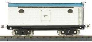 Standard Gauge 11-30240 214 WHITE AND BLUE REFRIGERATOR CAR
