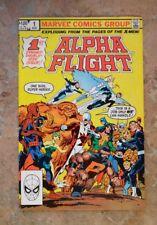 ALPHA FLIGHT #1 (MARVEL 1983)1ST PUCK AND MARRINA. HIGH GRADE!!!!