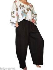 Leinene Damen-Haremshosen Damenhosen für den Sommer