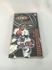 Denver Broncos Official Super Bowl XXXII Video VHS Sealed Brand New