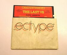 The Last V8 Disk by Mastertronic for the Commodore 64 and Atari 400/800