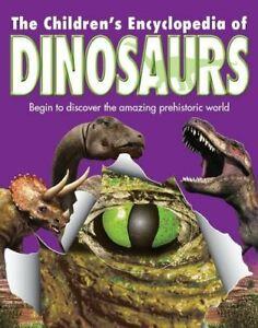 Children's Dinosaur Encyclopedia by NA Hardback Book The Cheap Fast Free Post