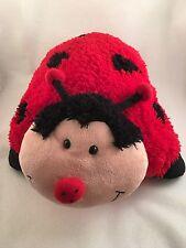 "Pillow Pets Large Ladybug Comfy Plush Pillow Pet Cuddly Sleep As Seen On TV 18"""