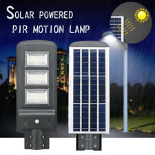 60W Solar Lamp Light Control+PIR Motion Sensor Outdoor Garden Street Light Lamp