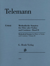 Henle Urtext Telemann Methodical Sonatas for Flute or Violin and Continuo, Vol 2