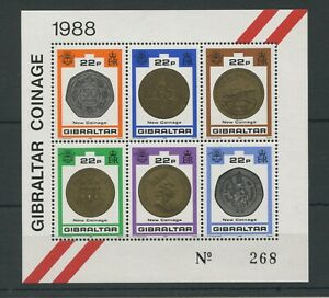 Gibraltar SGMS 621 1989 New Coinage U/Mint