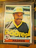 1979 Topps Dave Winfield San Diego Padres #30 HOF