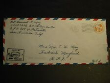 APO 929 PORT MORESBY, NEW GUINEA 1943 Censored WWII Army Cover 1881 ENGR Avn Bn