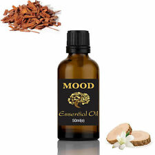 Sandalwood Essential Oil 50ml Aromatherapy Diffuser Burner Therapeutic Oils
