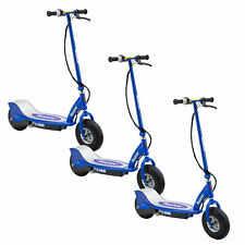 Razor E300 Electric Rechargeable Motorized Ride On Kids Scooter, Blue (3 Pack)