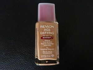 Revlon Age Defying Makeup/Foundation w/BOTAFIRM- HONEY BEIGE #11 -All Skin Types