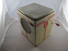 Vintage 40s-50s WOLVERINE LAUNDRETTE -  TIN TOY WASHING MACHINE