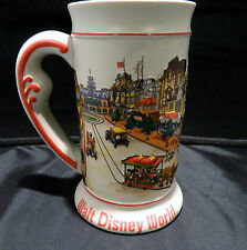 Walt Disney World Beer Mug Raised 3D Design Main Street Cinderella Castle