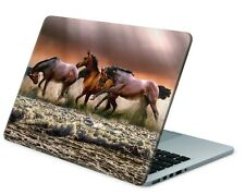 Universal Laptop Skin Notebook Netbook MacBook Aufkleber Sticker Wildpferde