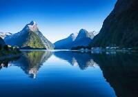 VLIES   Fototapete XXL Berge in Neuseeland Tapete Vliestapete 15F0266460