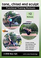EXERCISE DVD - Barlates Body Blitz TONE, CHISEL and SCULPT BOX SET 12 workouts