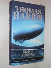 BLACK SUNDAY Thomas Harris La Biblioteca di Repubblica 2000 libro romanzo storia