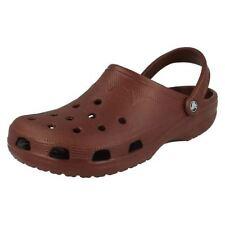 Scarpe da uomo neri Crocs in gomma
