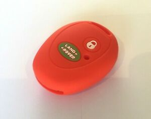 RED LAND ROVER DISCOVERY 2 SILICONE KEY FOB COVER