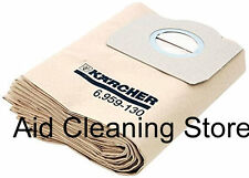 Karcher A2201 A2204 A2206 A2234 Wet Dry Vacuum Cleaner Dust Bags 5PK 6.959-130.0