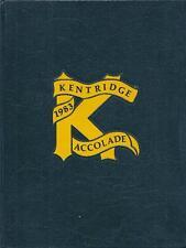 Kentridge High School Yearbook 1983 Kent, WA (Accolade)