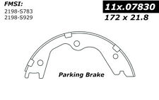 Centric Parts 111.07830 Rear Parking Brake Shoes